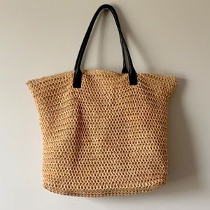 H&M Large Woven Tote